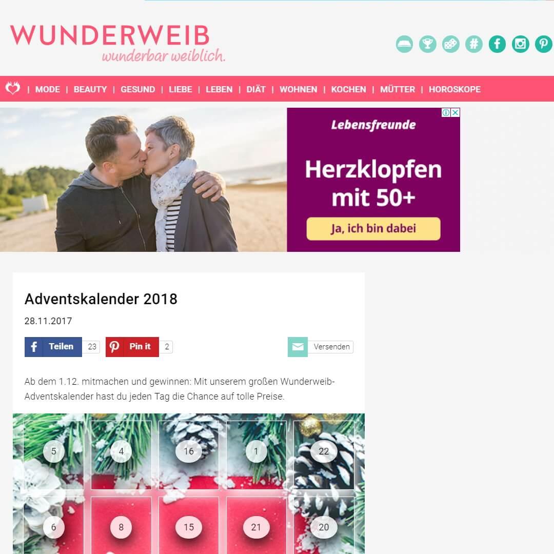 Alle Online Adventskalender Gewinnspiele 2018 Top Gewinne Sichern