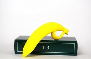 Bananen- Dildo